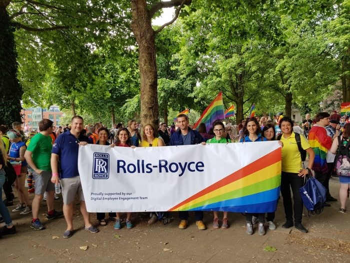 LGBT+ inclusion at Rolls-Royce
